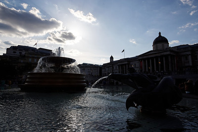 Trafalgar square - London - May 2013