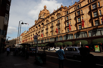 A London icon, Harrod's - London June 2013