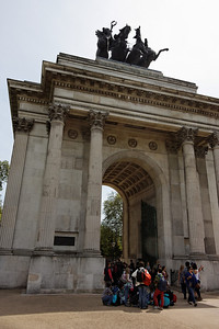 Wellington Arch - London - May 2013