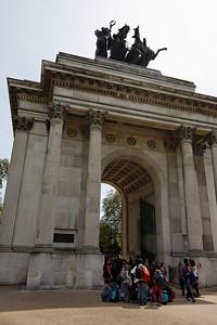 Wellington Arch - London - May 2013