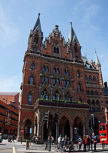 St Pancrass Station - London - May 2013
