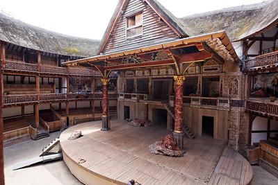 The Globe Theater - London June 2013