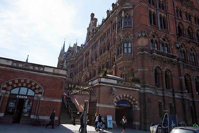 St Pancrass Station - London - May 2013