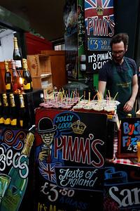 Borough market - London June 2013