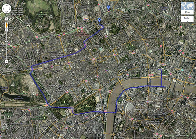London walk...