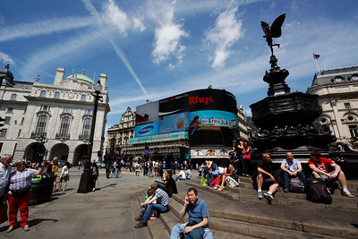 Picadilly Circus - London June 2013
