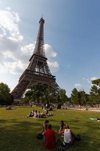 La Tour Eiffel - Paris, July 2013