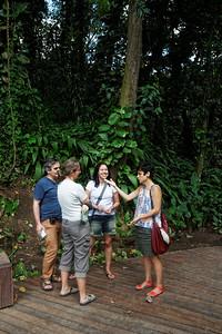 Fred, Laure, Catha and Adriana - Jardim botanico, Rio