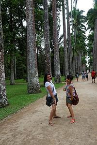 Catha e Adriana - Jardim botanico, Rio
