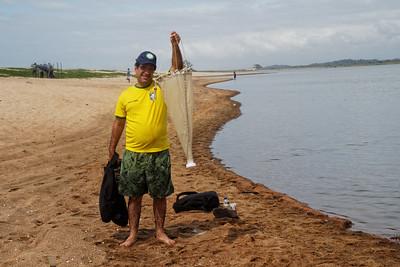 Angel sampling - Field trip to Parque Nacional Restinga de Jurubatiba