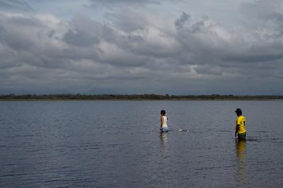 Angel and Adriana - Field trip to Parque Nacional Restinga de Jurubatiba