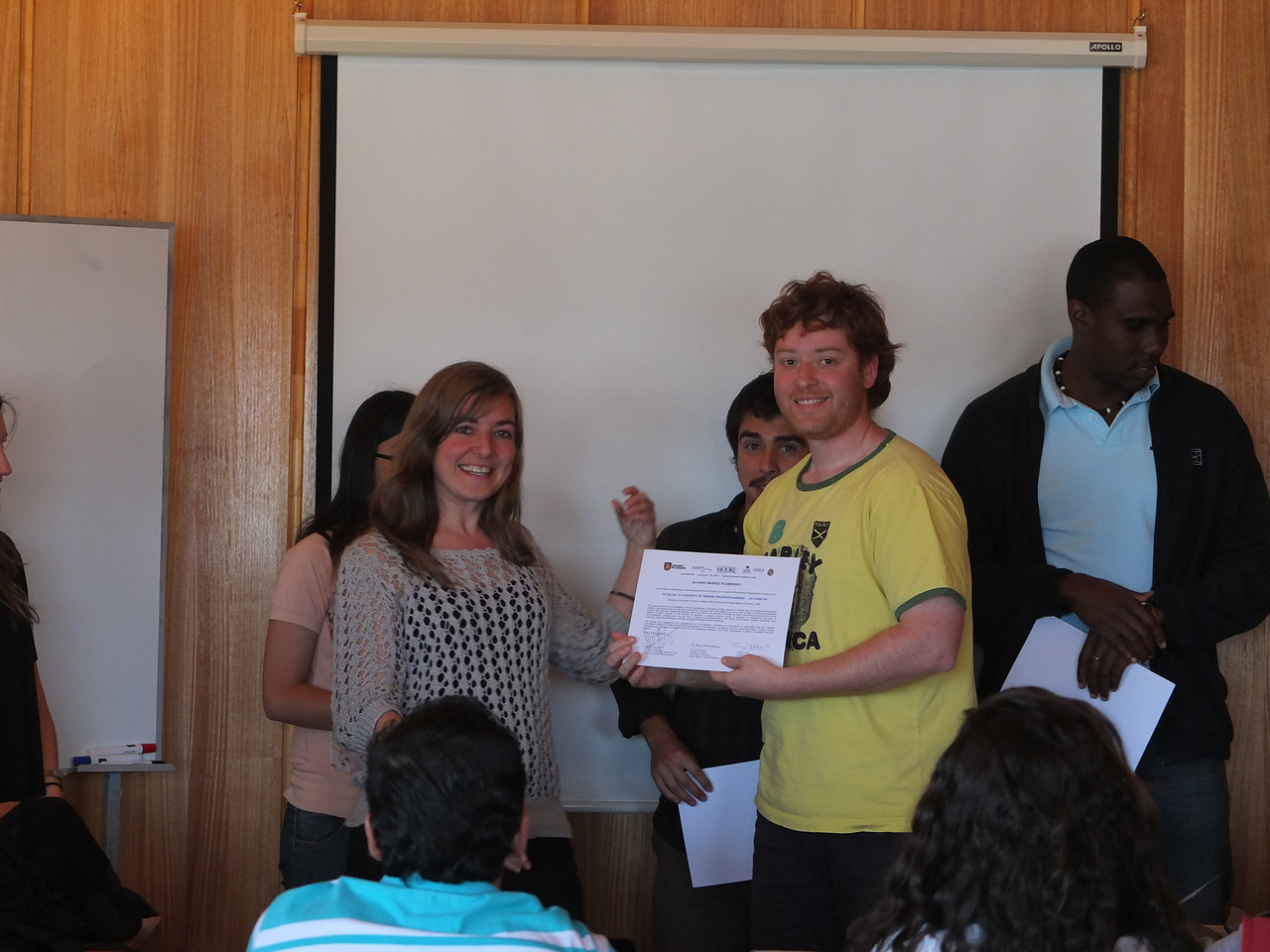 Final report and graduation