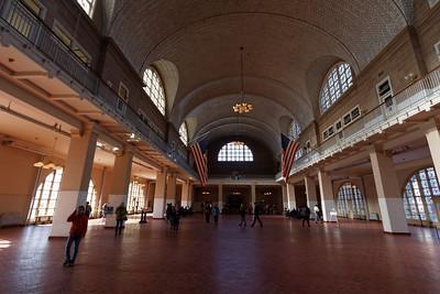 Ellis Island - The registration room