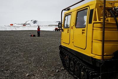 Antarctic shuttle