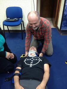 First aid with Rodrigo