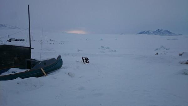 The frozen ocean
