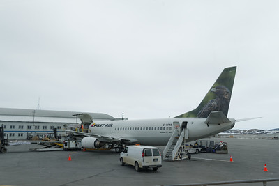 The plane from Ottawa