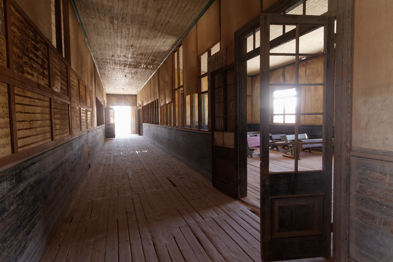 Humberstone, a ghost city - The school