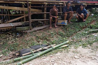 Burial ceremony near Rantepao