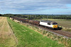 DCR operated 56091 passes Plawsworth on 6Z16 15:00 Butterwell-York Holgate coal, 07/09/13
