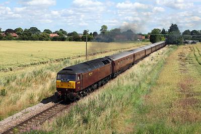Rails around the Harrogate circle