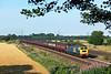 47580 passes Burton Salmon on 1T39 17:00 Scarborough - York 'Spa Express' 22/07/14
