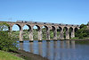 43251 crosses the Royal Border Bridge, Berwick on 1E13 07:55 Inverness - LKX, 21/05/14
