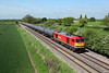 60017 passes Barrow on Trent on 6E54 10:40 Kingsbury - Lindsey empty tanks, 03/05/14