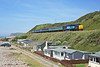 37419 passes the beach side hamlet of Coulderton on the rear of 2C49 11:38 Barrow in Furness - Carlisle, 10/06/15<br /> **Taken using a pole