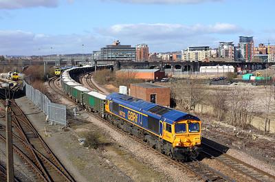 Rails around Leeds