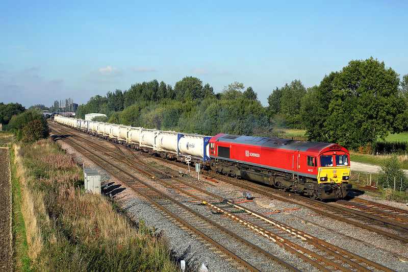 IMG_2015_0858 66152 Milford junction 6V85 1605 Milford West Sidings-Appleford Sidings 270915