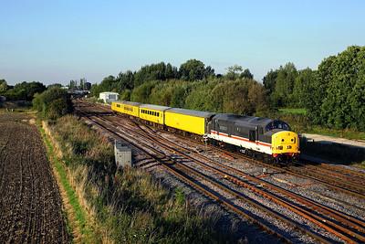 Rails around Milford junction