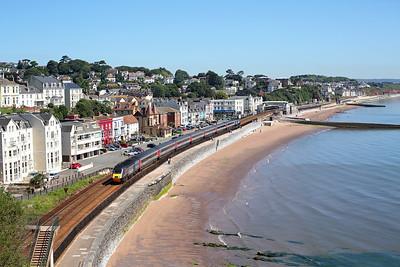 43378 runs through Dawlish on 1V44 06:00 Leeds - Plymouth, 05/07/17