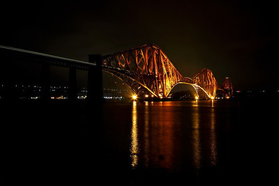 The Forth Bridge viewed from South Queensferry, 02/09/18