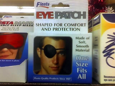Hey, sexy eyepatch!  Shiver me timbers!