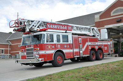 Updated 7/16: Davidson County (Metro Nashville) Fire Apparatus