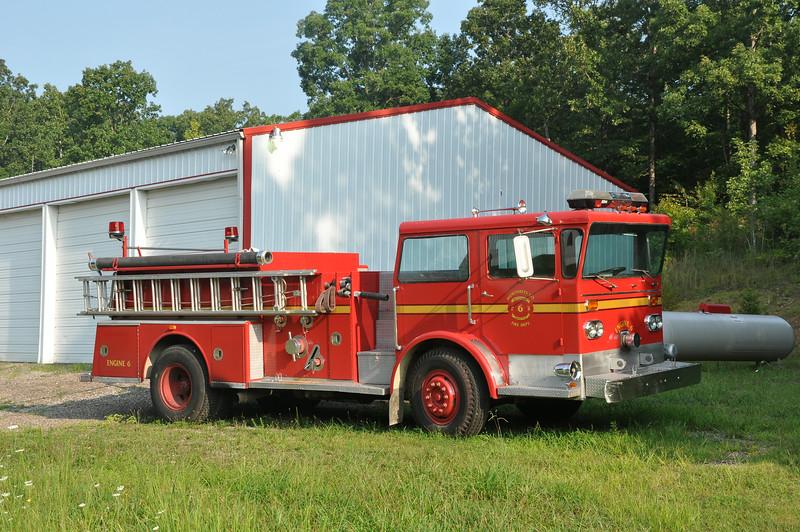 Humphreys Co., TN  FD Eng. 6<br /> 1975 ALF Pioneer<br /> 1000/?<br /> Ser. #P-12-4320