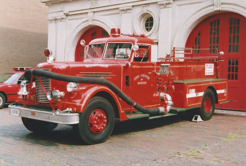Fire Museum Engine