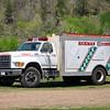 Hickman County Rescue Squad, TN<br /> Tanker 2<br /> 1995 Ford (F)/AH Stock ?/2000<br /> 4/2016