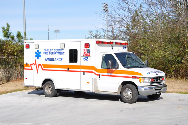 Shelby County, TN (Loaner) U62 2001 Ford/PL Custom 1/2017  -Shelby County, TN took over ambulance service from private company 1-1-17.