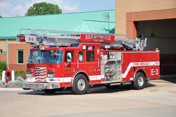 Brentwood, TN E3 2005 Pierce Dash  2000/500/30/61' #16340 Photographed 6/16