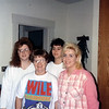 Mary, Lori, Angie and Evelyn Woods   ( 1994 )