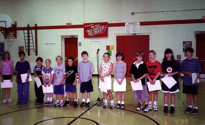 Alex and the Washington School Presidential Physical Fitness Award Winners  ( 1999 )