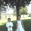 Brock and Morgan all dressed up  ( 2003 )