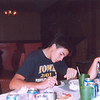 Alex, Cassie and Cory on his 17th Birthday at Hawkeye Pizza  ( 2003 )