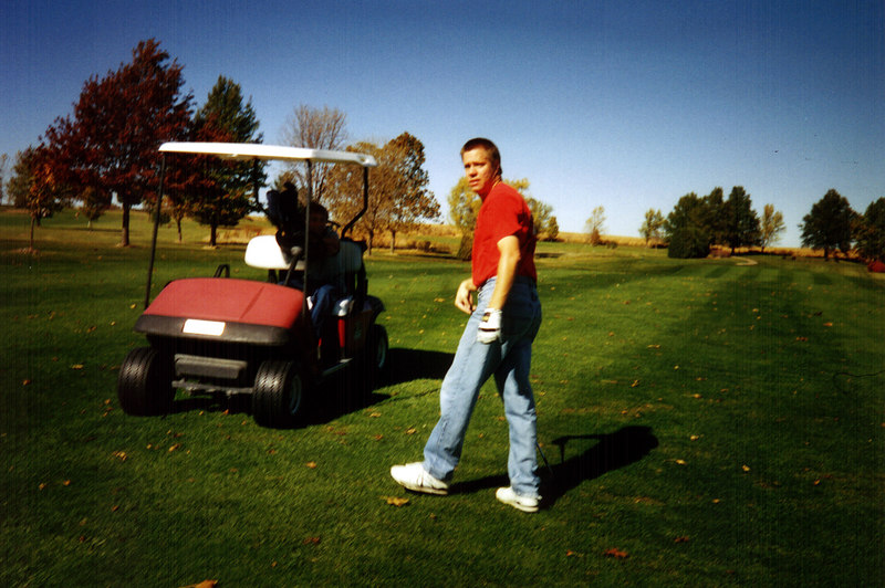Todd on the course  ( 2004 )