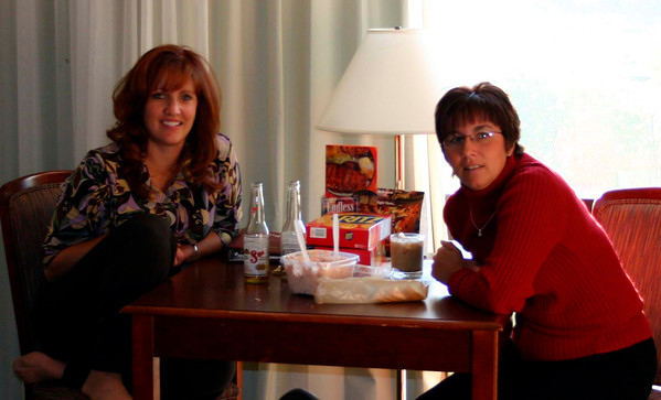 Patti and Lori eating in the room  ( 2004 )