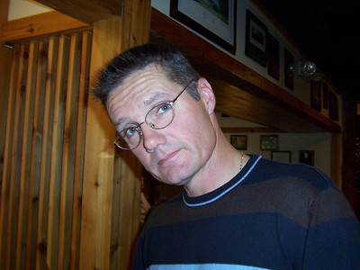 Bruce Brooke at the restaurant  ( 2004 )