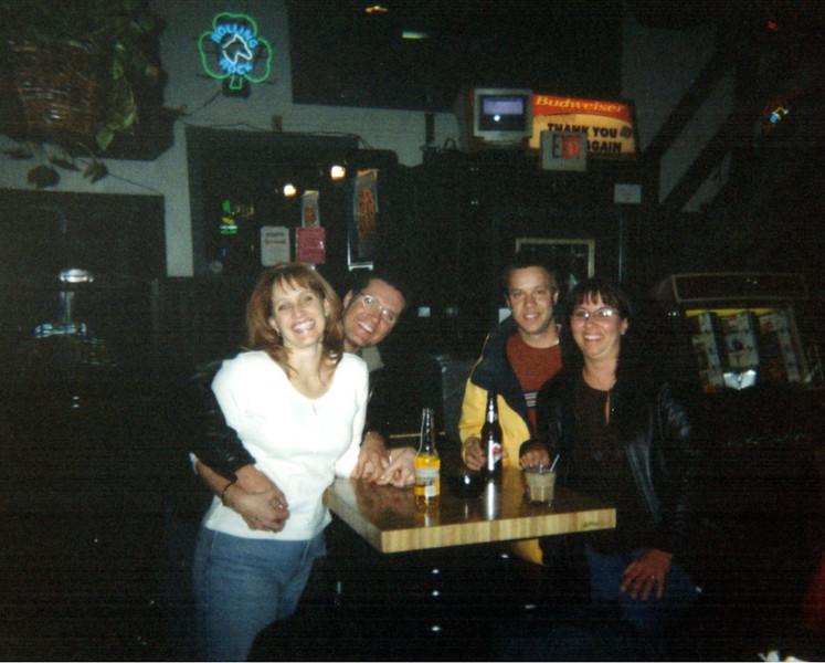 Patti and Bruce Brooke, Todd and Lori at the bar  ( 2004 )