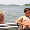 Mary and Travis are catching some rays.  ( 2005 )